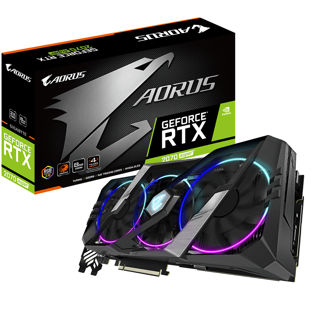 AORUS GeForce® RTX 2070 SUPER™ 8G