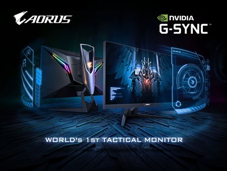 AORUS AD27QD Recognized by NVIDIA as G-Sync Compatible!
